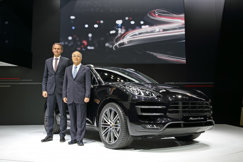 Porsche Macan SUV unveiled in LA with up to 400 hp Image #212468