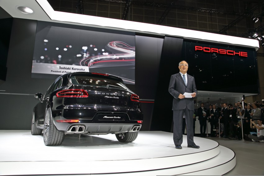 Porsche Macan SUV unveiled in LA with up to 400 hp Image #212466