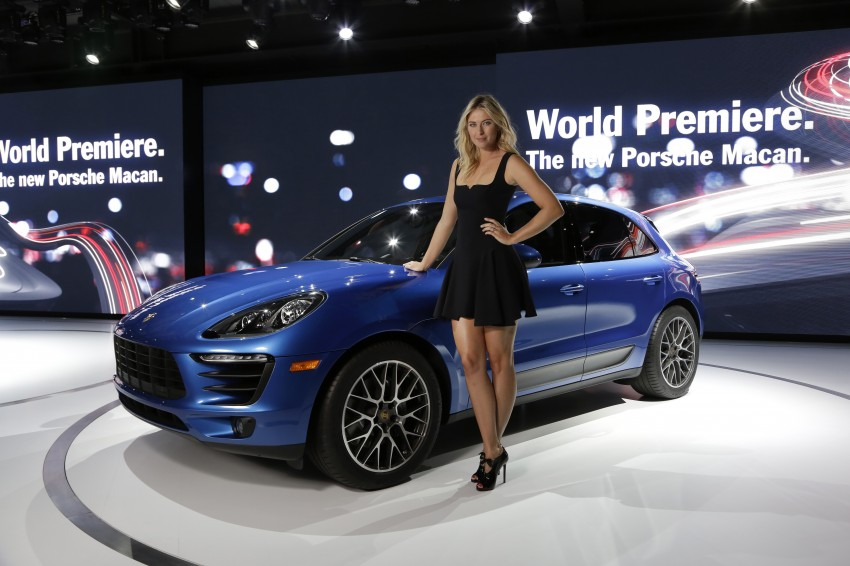Porsche Macan SUV unveiled in LA with up to 400 hp Image #212470