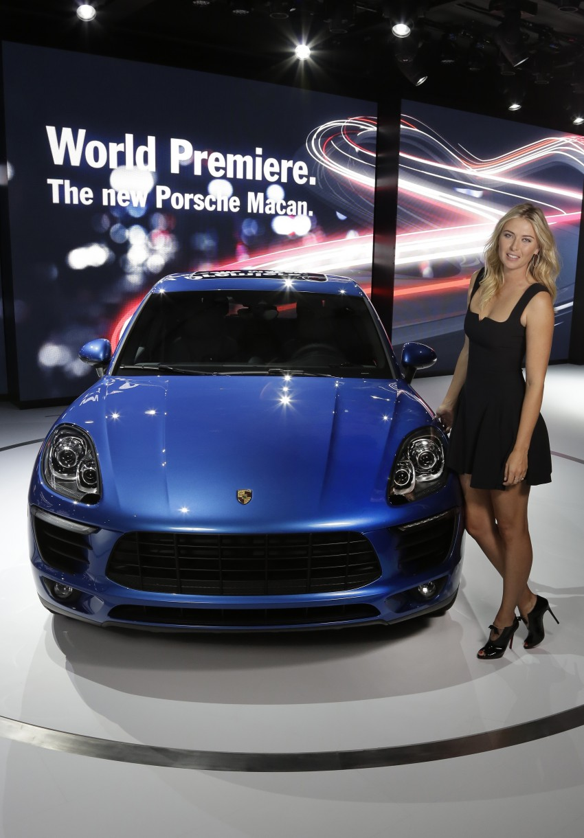Porsche Macan SUV unveiled in LA with up to 400 hp Image #212469