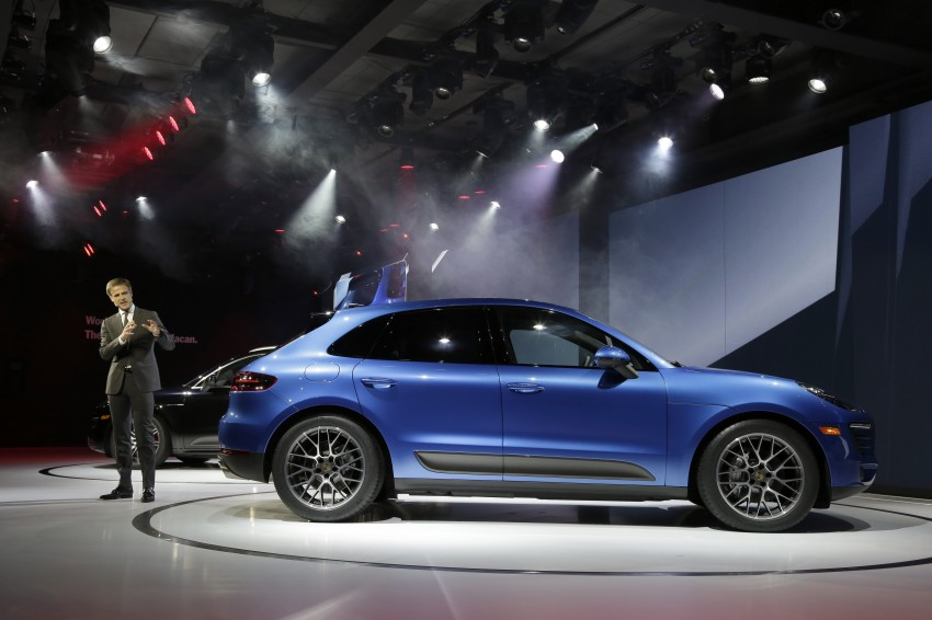 Porsche Macan SUV unveiled in LA with up to 400 hp Image #212464
