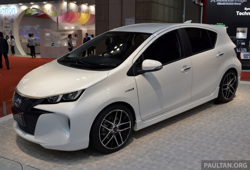 Tokyo 2013: Toyota Aqua in four different flavours Image #212533