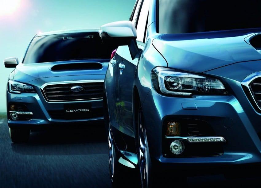 Tokyo 2013: Subaru Levorg Sports Tourer – just a prototype in name, launching next year Image #212059