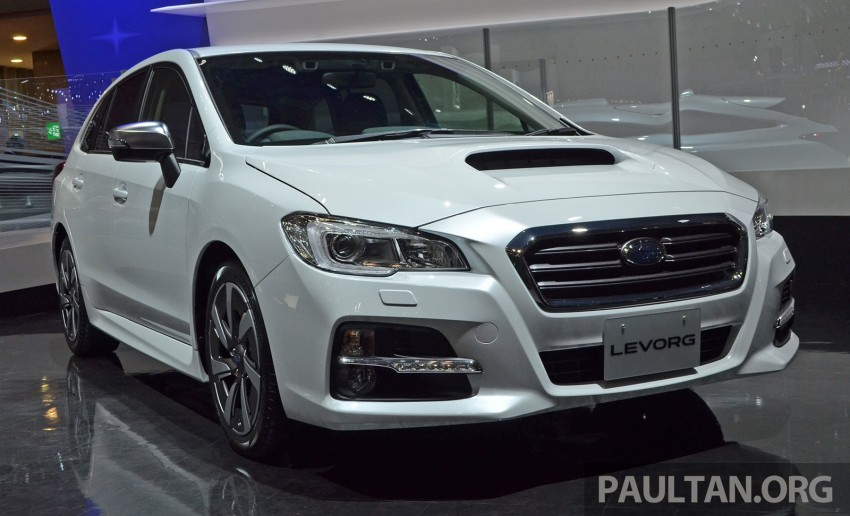 Tokyo 2013: Subaru Levorg Sports Tourer – just a prototype in name, launching next year Image #211958