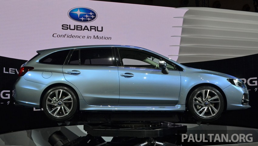 Tokyo 2013: Subaru Levorg Sports Tourer – just a prototype in name, launching next year Image #211970