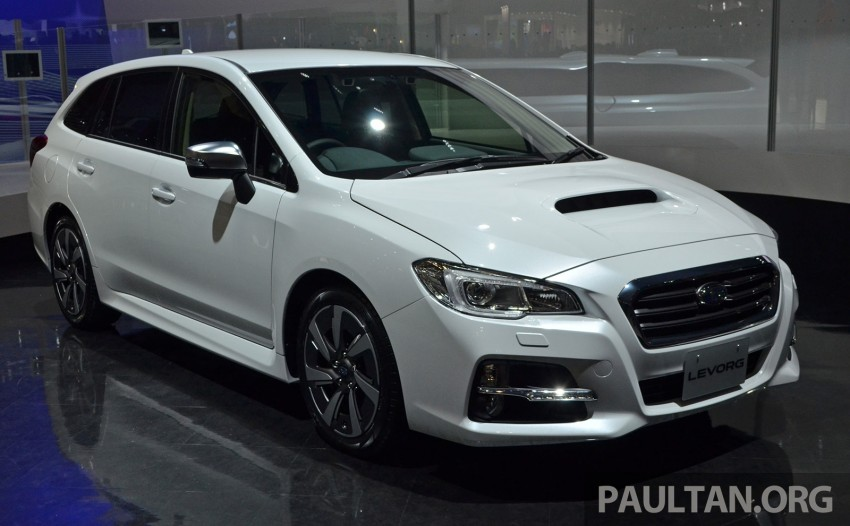 Tokyo 2013: Subaru Levorg Sports Tourer – just a prototype in name, launching next year Image #211961