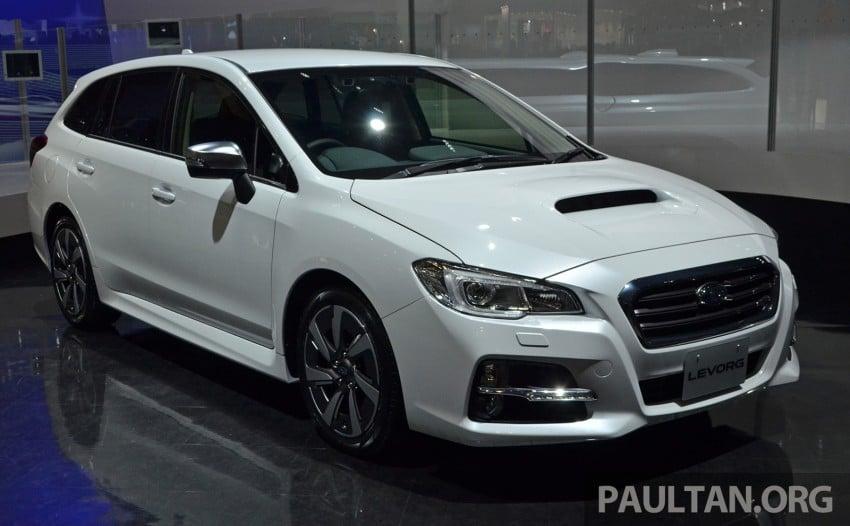 Tokyo 2013: Subaru Levorg Sports Tourer – just a prototype in name, launching next year Image #211961