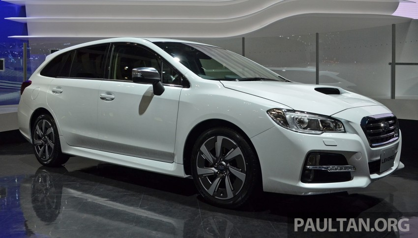 Tokyo 2013: Subaru Levorg Sports Tourer – just a prototype in name, launching next year Image #211964