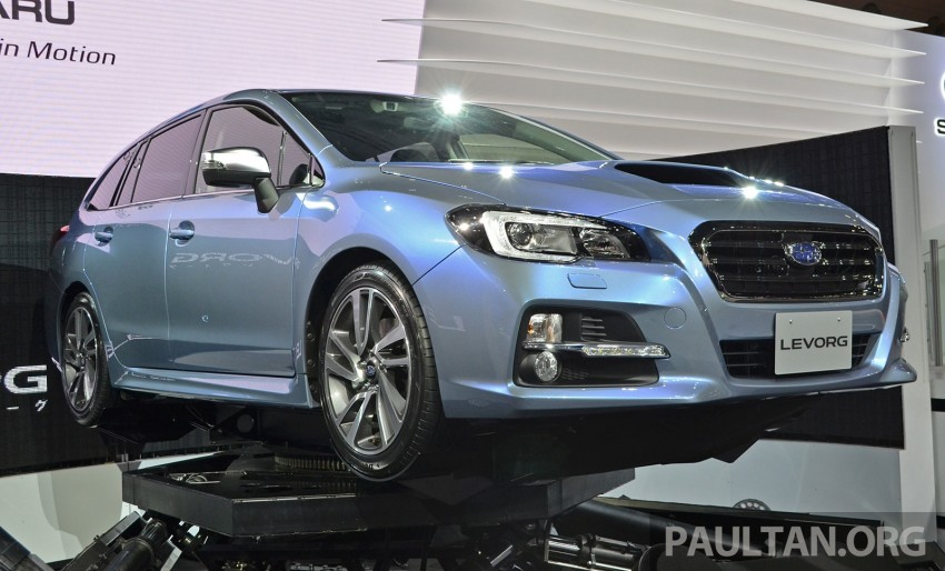 Tokyo 2013: Subaru Levorg Sports Tourer – just a prototype in name, launching next year Image #211965