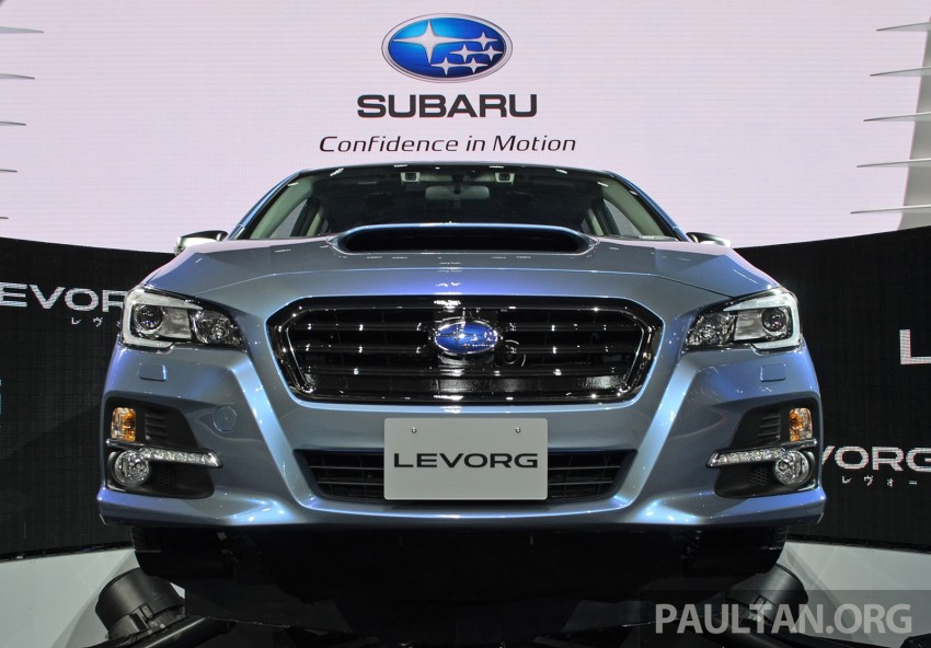 Tokyo 2013: Subaru Levorg Sports Tourer – just a prototype in name, launching next year Image #211968