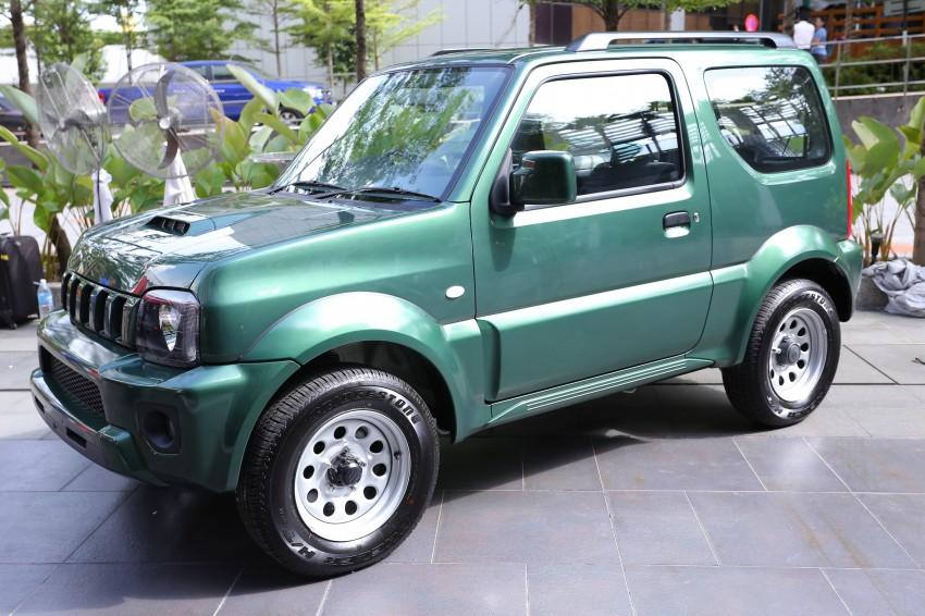 Suzuki Jimny launched in Malaysia, RM87k-92k Image #209474