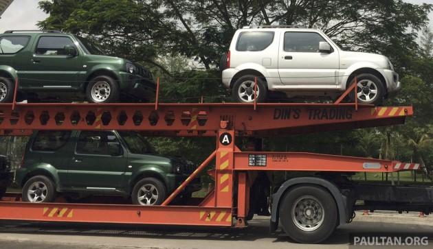 Suzuki Jimny spy 2