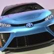 Toyota FCV Concept Tokyo 2