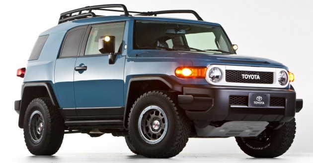 Toyota FJ Cruiser Trail Teams UE 01