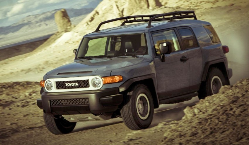 Toyota FJ Cruiser Trail Teams Ultimate Edition – waving ...