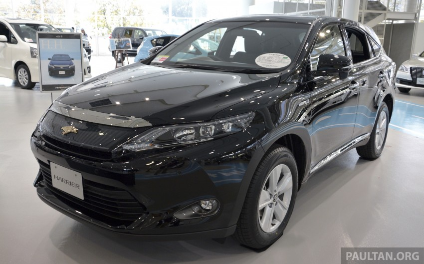 GALLERY: 2014 Toyota Harrier at Toyota Megaweb Image #211117