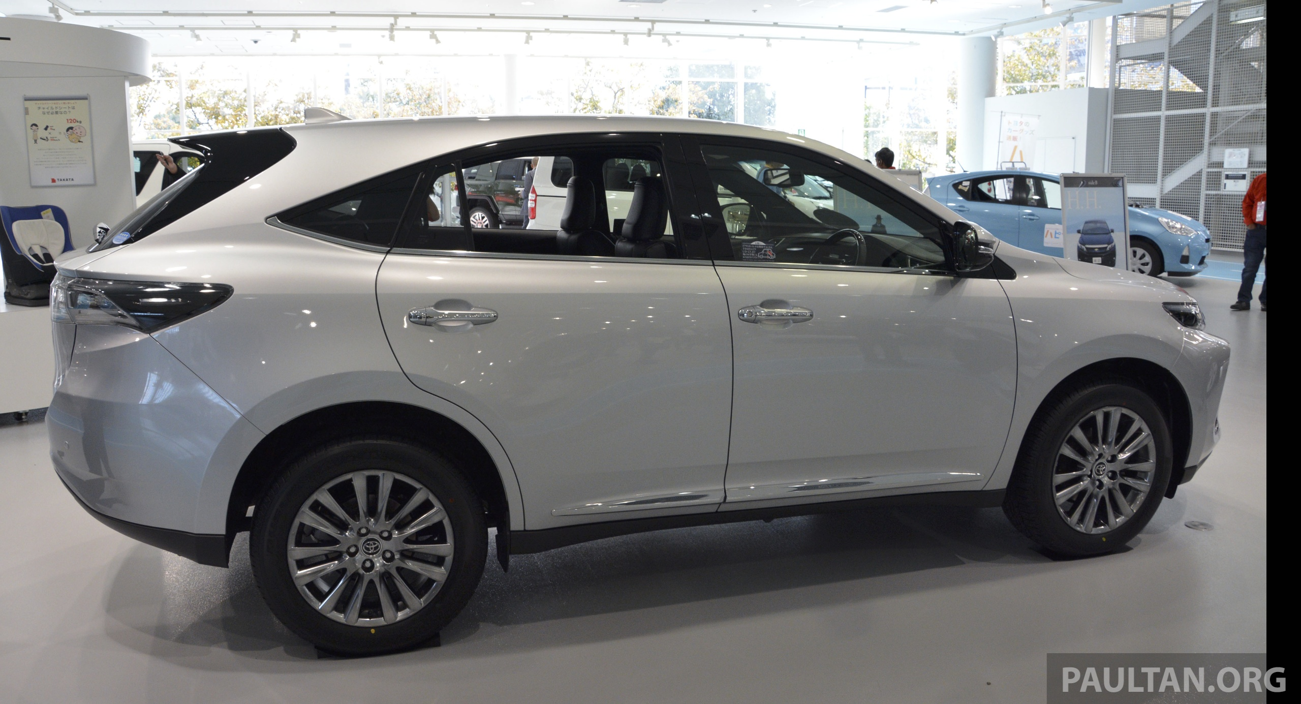 Toyota Harrier 2018 >> GALLERY: 2014 Toyota Harrier at Toyota Megaweb Paul Tan - Image 211131
