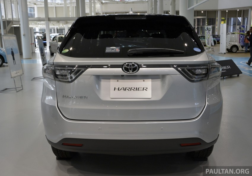 GALLERY: 2014 Toyota Harrier at Toyota Megaweb Image #211145