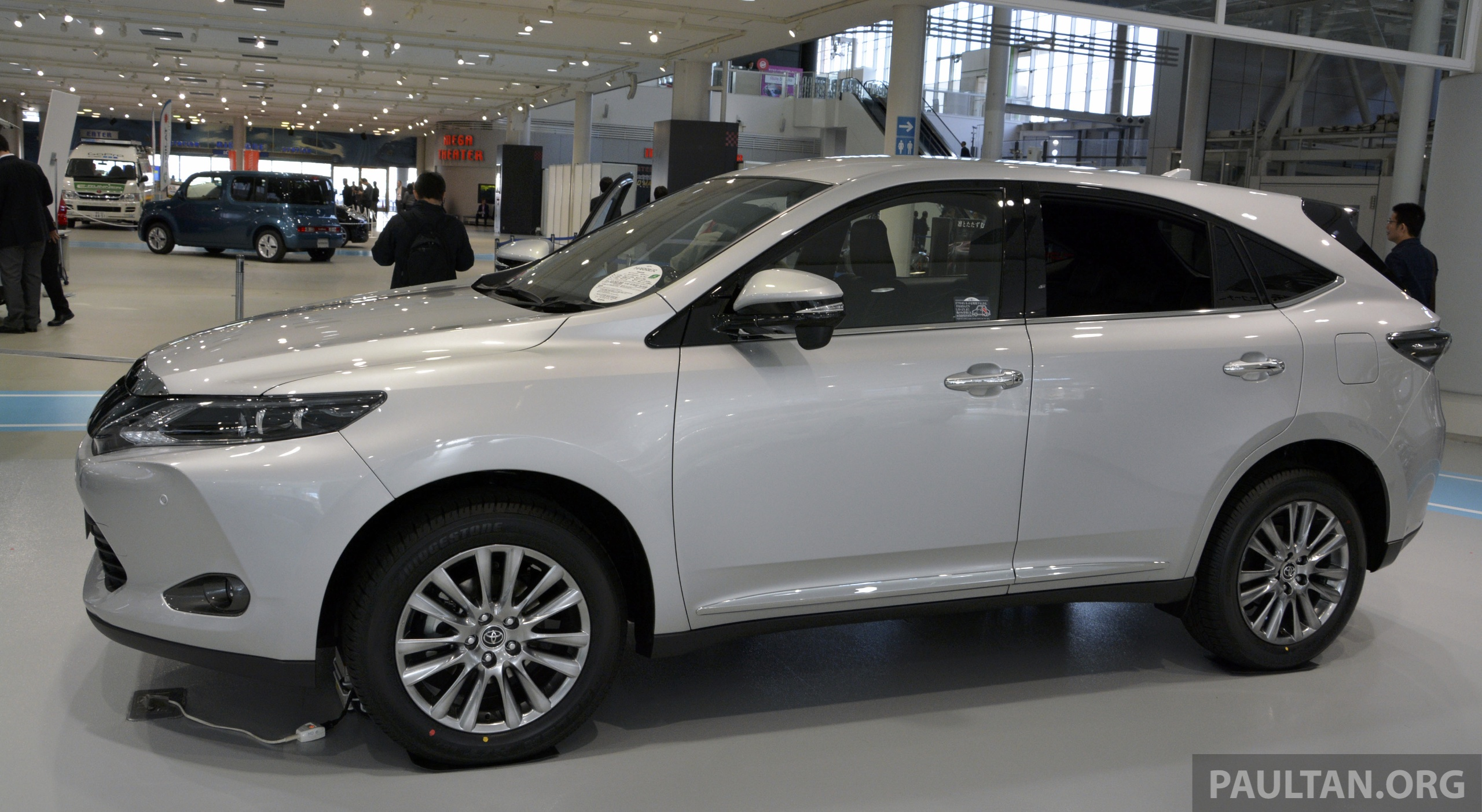 Gallery 2014 Toyota Harrier At Toyota Megaweb Image 211121
