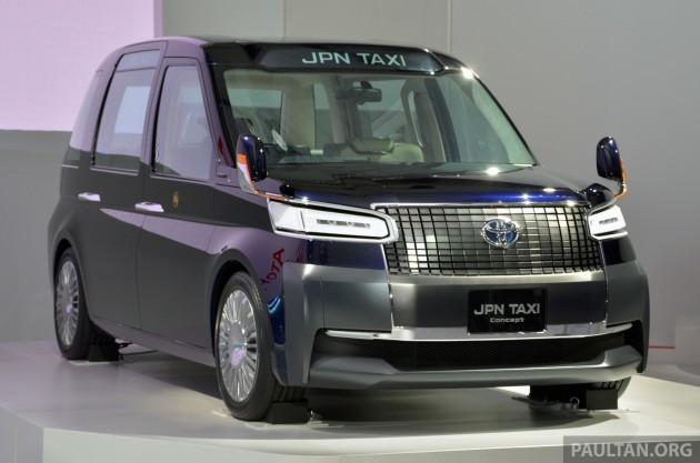 Toyota JPN Taxi Tokyo 3