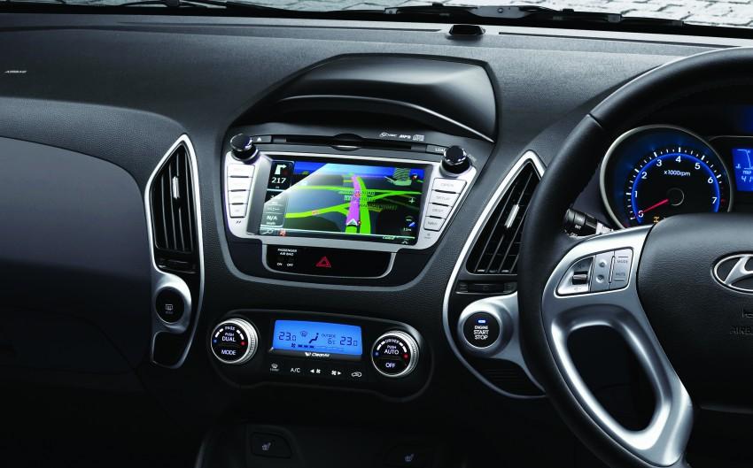Hyundai Tucson Facelift makes debut at KLIMS13 Image #210249