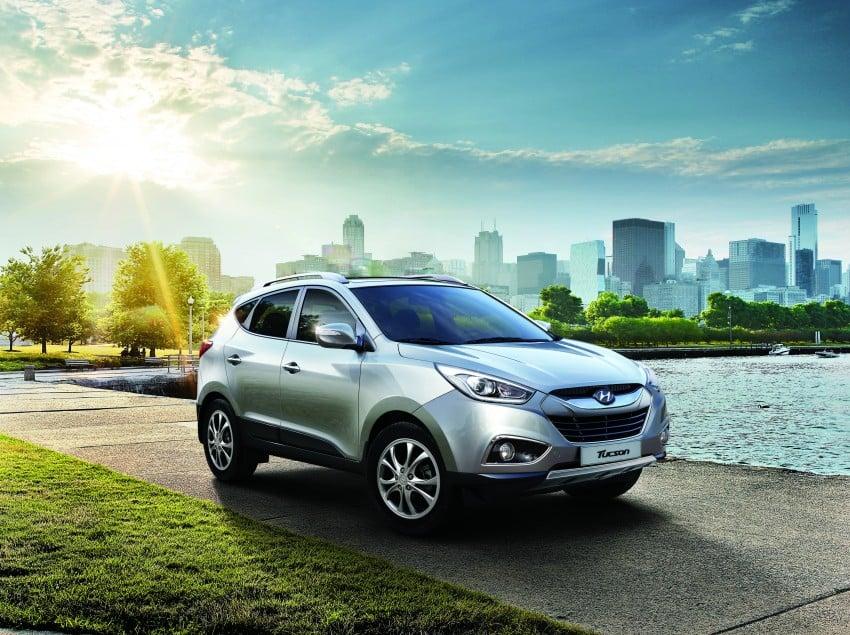 Hyundai Tucson Facelift makes debut at KLIMS13 Image #210241