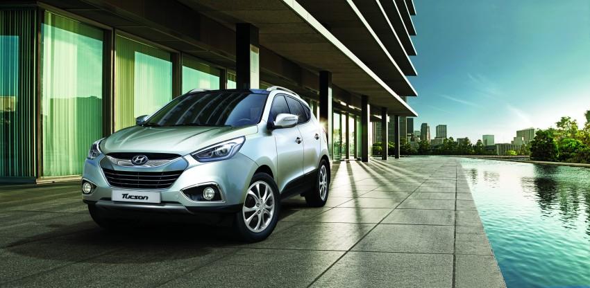 Hyundai Tucson Facelift makes debut at KLIMS13 Image #210244