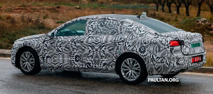 Next-generation Volkswagen Passat sighted on test Image #211099