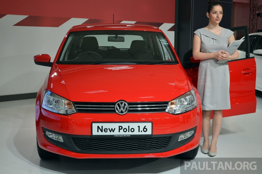 2014 Volkswagen Polo Hatchback previewed at KLIMS13 – CKD, 1.6 MPI, 6sp auto, launch in 2014 Image #209561