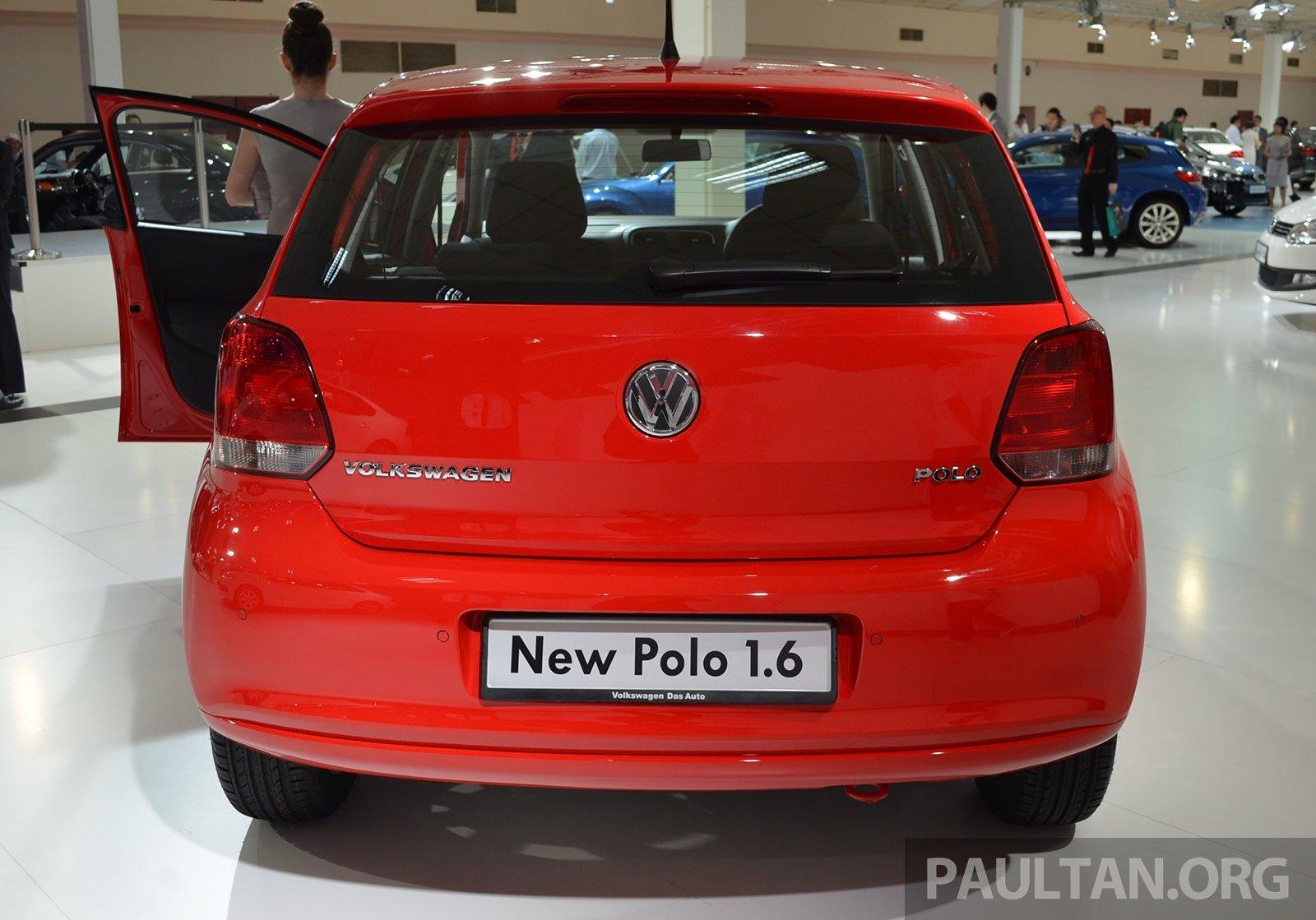 2014 volkswagen polo hatchback previewed at klims13 ckd 1 6 mpi 6sp auto launch in 2014. Black Bedroom Furniture Sets. Home Design Ideas