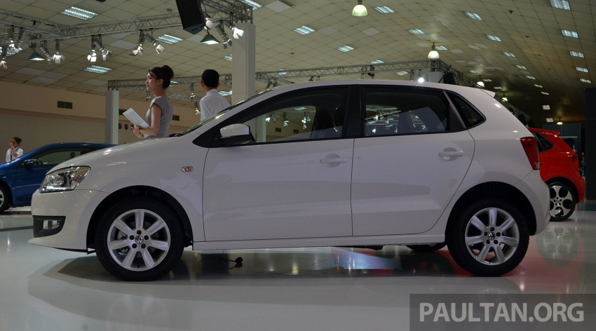 2014 Volkswagen Polo Hatchback previewed at KLIMS13 – CKD, 1.6 MPI, 6sp auto, launch in 2014 Image #209589