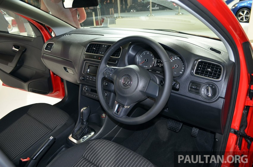 2014 Volkswagen Polo Hatchback previewed at KLIMS13 – CKD, 1.6 MPI, 6sp auto, launch in 2014 Image #209563