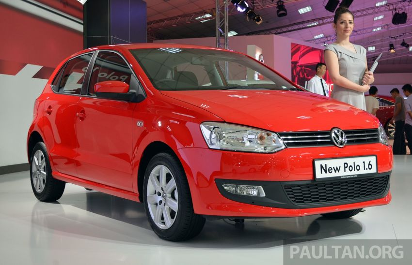 2014 Volkswagen Polo Hatchback previewed at KLIMS13 – CKD, 1.6 MPI, 6sp auto, launch in 2014 Image #209591