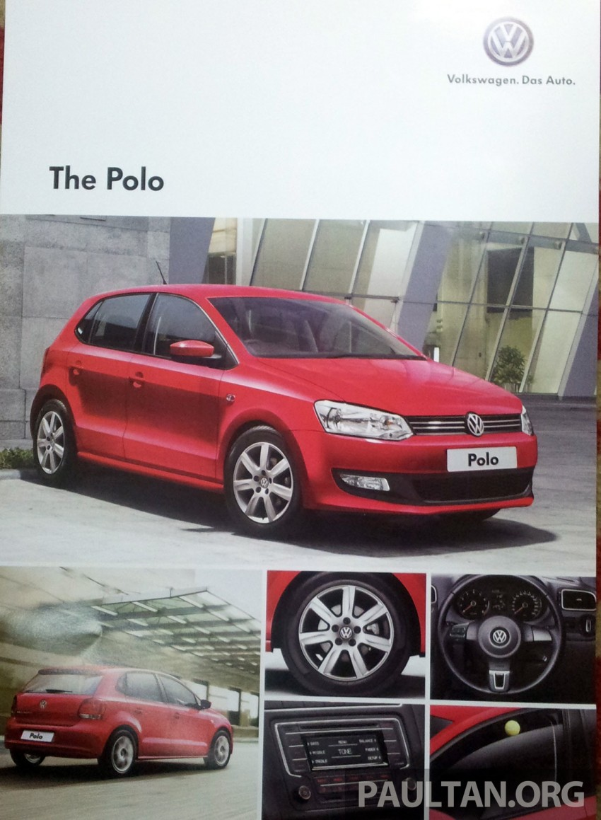 2014 Volkswagen Polo Hatchback previewed at KLIMS13 – CKD, 1.6 MPI, 6sp auto, launch in 2014 Image #209592