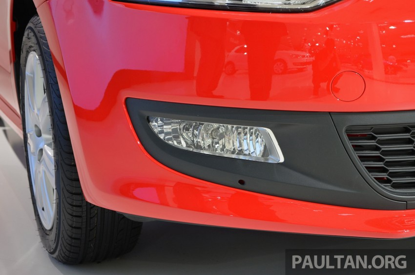 2014 Volkswagen Polo Hatchback previewed at KLIMS13 – CKD, 1.6 MPI, 6sp auto, launch in 2014 Image #209565