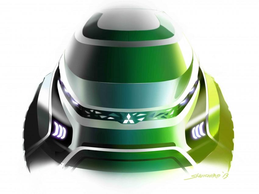 Tokyo 2013: Mitsubishi Concept AR previews new MPV Image #212834