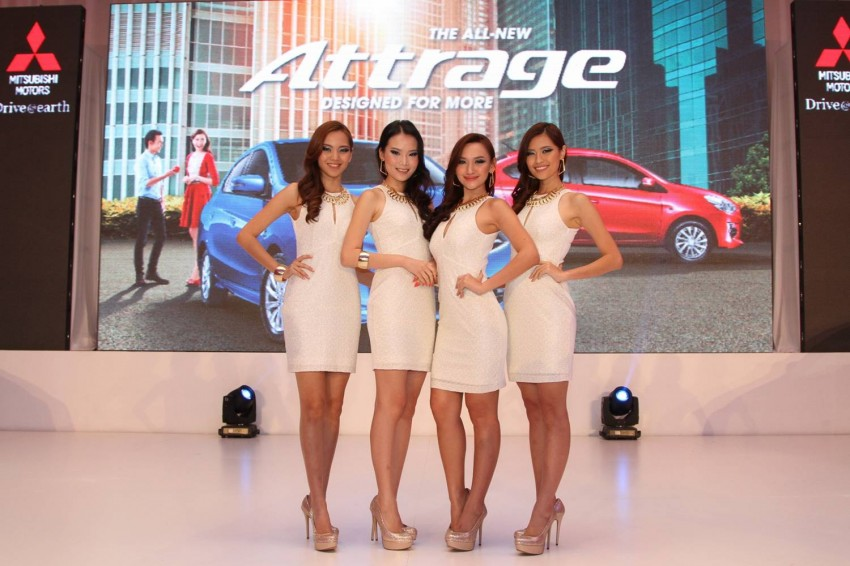 Mitsubishi Attrage launched in Malaysia, from RM59k Image #209127