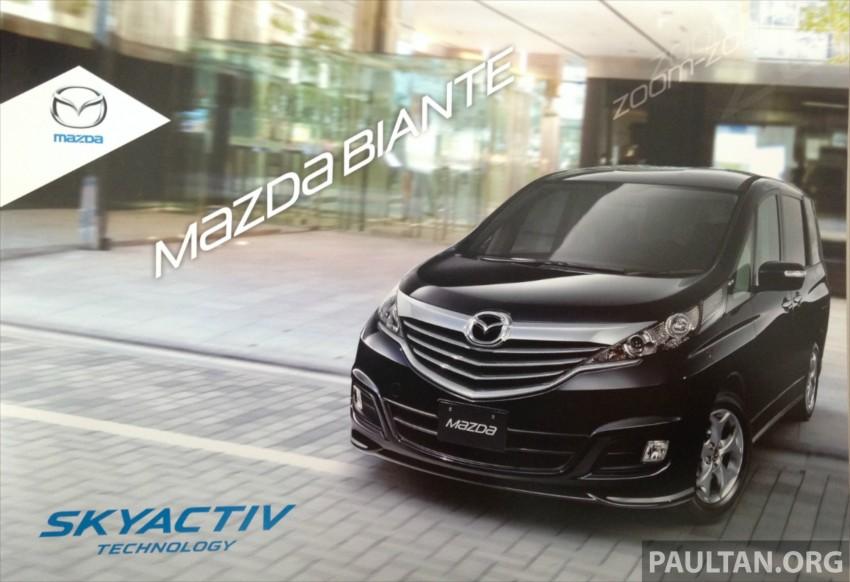 Mazda Biante 2.0 Skyactiv listed on oto.my – RM157k Image #207973