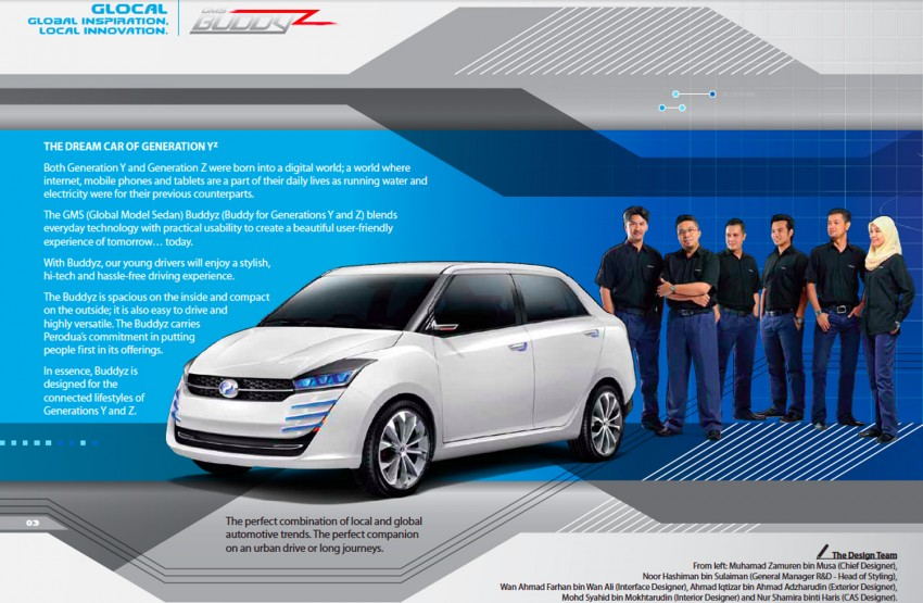 Perodua Buddyz concept sedan debuts at KLIMS13 Image #210066
