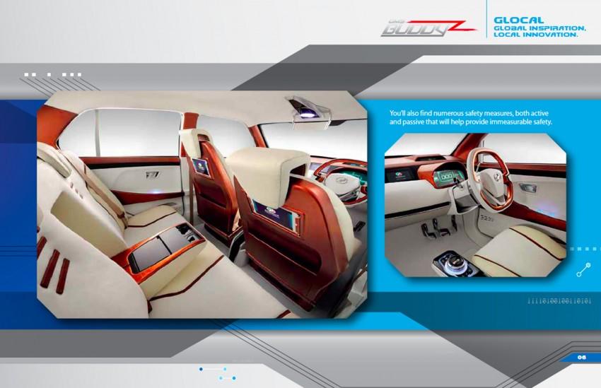 Perodua Buddyz concept sedan debuts at KLIMS13 Image #210069