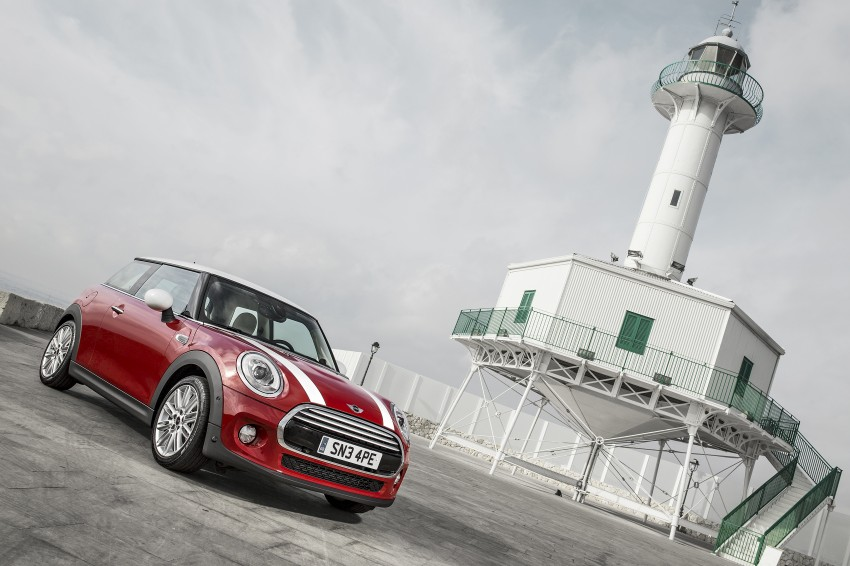 Third-gen F56 MINI hatch unveiled: all turbo line-up Image #211169