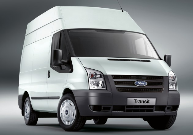 ford transit 5th-gen panel van 350L
