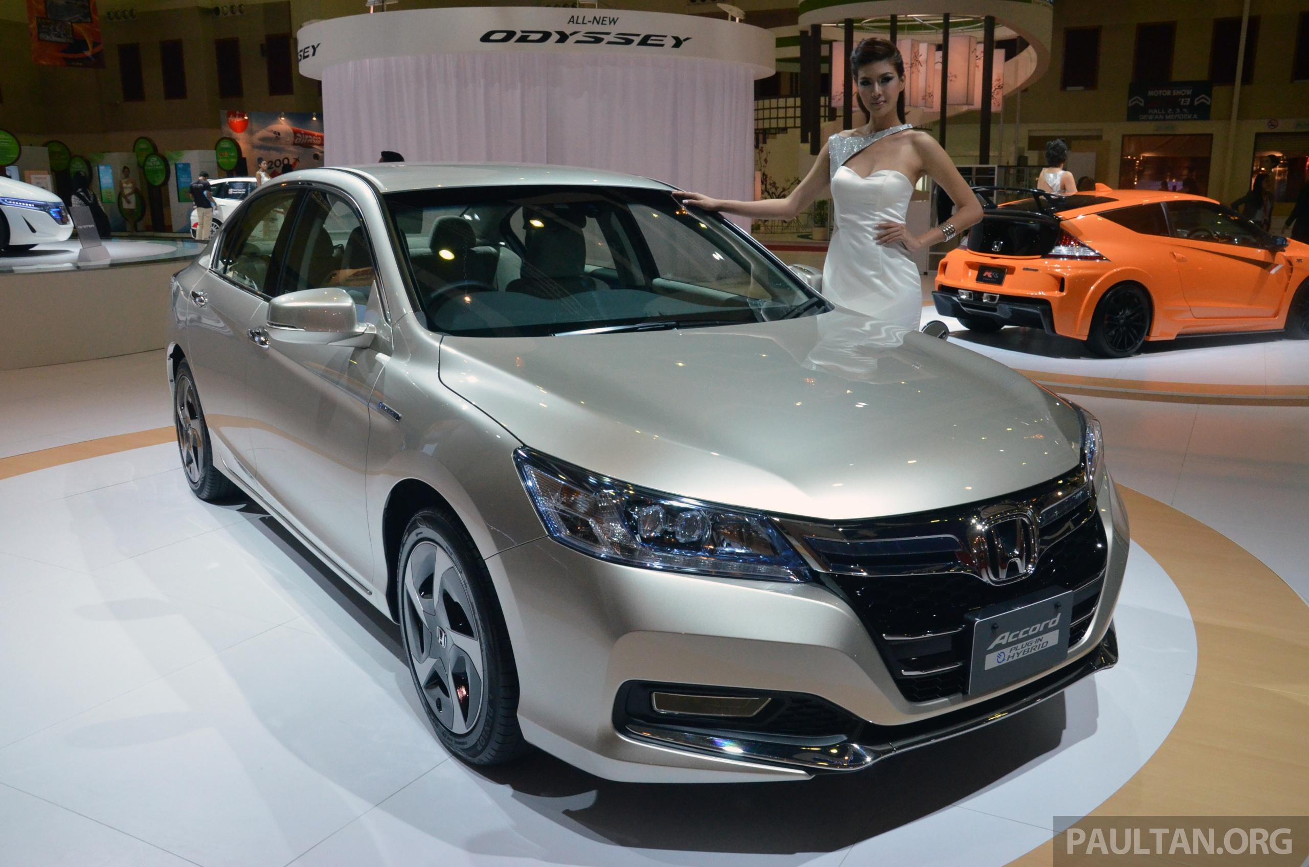 : Honda Accord Plug-in Hybrid previewed at KLIMS13, Honda Malaysia ...