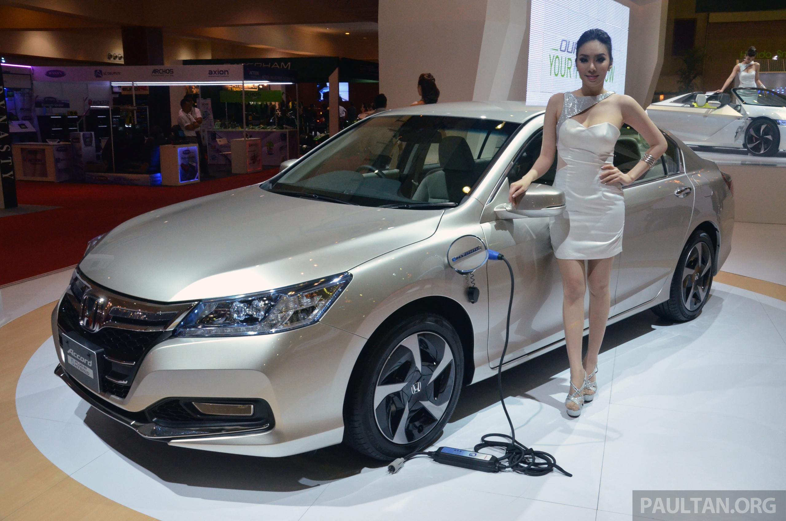 Honda Accord Plug In Hybrid Previewed At Klims13 Honda