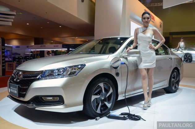 Honda Accord Plug-in Hybrid previewed at KLIMS13, Honda Malaysia ...