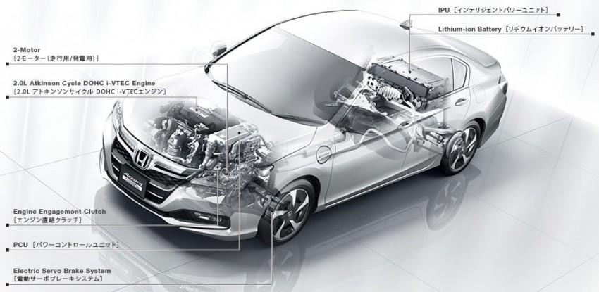 Honda Accord Plug-in Hybrid previewed at KLIMS13, Honda Malaysia studying Accord Hybrid introduction Image #210965