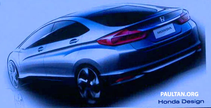 2014 Honda City makes world debut in India – class leading wheelbase, 1.5L diesel and petrol engines Image #213778