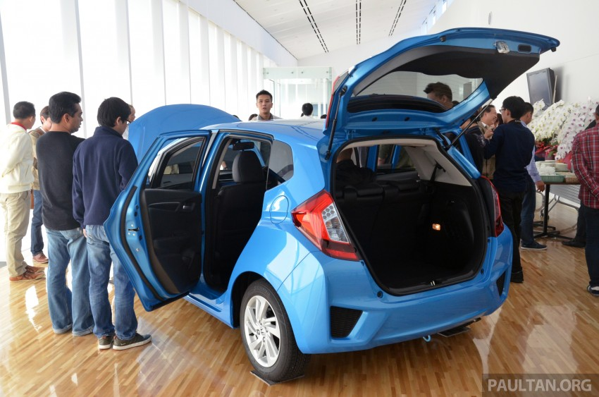 GALLERY: Honda Jazz Hybrid at new Yorii plant Image #211545