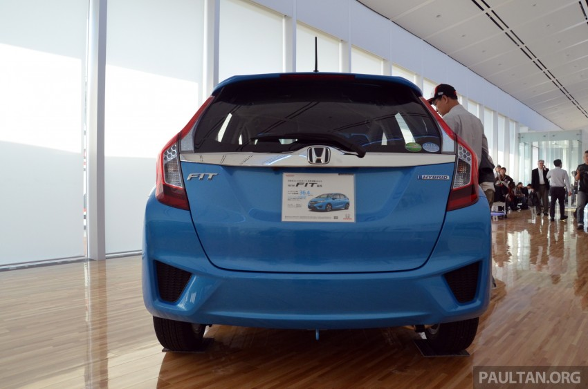 GALLERY: Honda Jazz Hybrid at new Yorii plant Image #211554