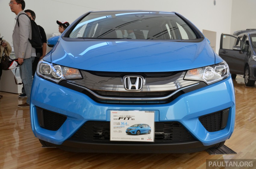 GALLERY: Honda Jazz Hybrid at new Yorii plant Image #211559